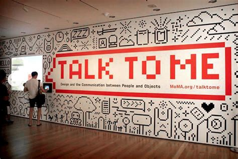 museum of modern exhibit talk to me design and the