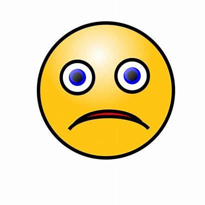 Face Emoticons Sad Smiley Clipart Clip Cliparts