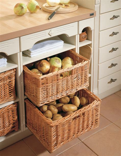 kitchen cabinet storage baskets styleture 187 notable designs functional living 5808