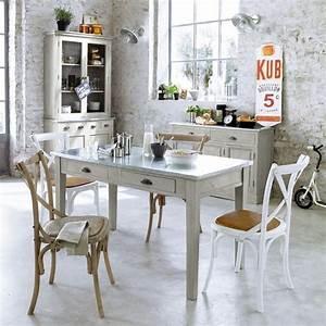 Table De Cuisine Maison Du Monde : m veis bancadas e mesas de zinco ideias decora o interiores ~ Teatrodelosmanantiales.com Idées de Décoration