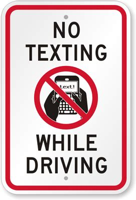 texting ban  effect thursday