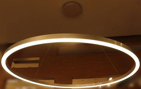 large ring led suspended pendant light chandelier l