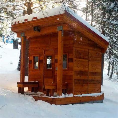 Backyard Sauna Kit by Best 25 Outdoor Sauna Ideas On Saunas