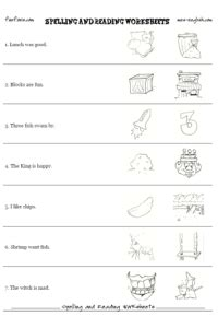 reading worksheet maker  phonics printables