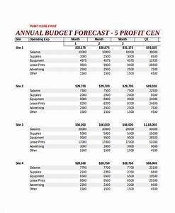 forecasting budget template 28 images budget forecast With annual projection template
