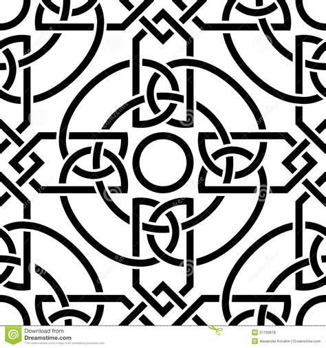 celtic seamless pattern royalty  stock  image