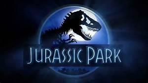 Jurassic Park Logo - 3ds Max, V-Ray, FumeFX - YouTube