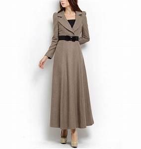 robe d hiver longue With robe d hiver en laine