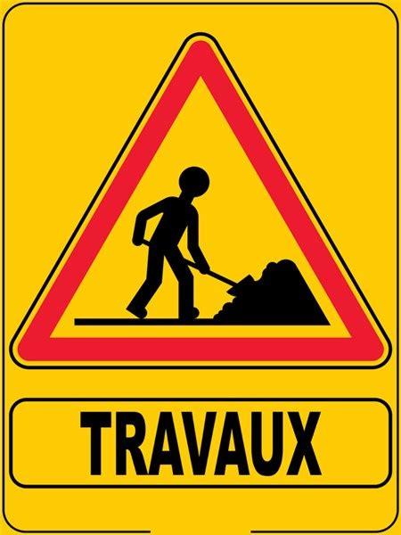 panneau de bureau panneau eco de signalisation de travaux direct signalétique