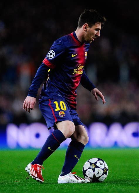 Lionel Messi Photos  Barcelona V Ac Milan Uefa