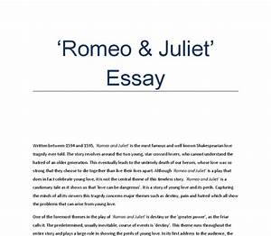 Romeo And Juliet Essay Love Article Review Ghostwriting Sites London  Romeo And Juliet Essay Love Admission Essay Writing Prompts Essays On English Language also Custom Writer  Examples Of An Essay Paper
