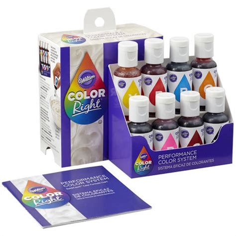 color  food coloring system wilton