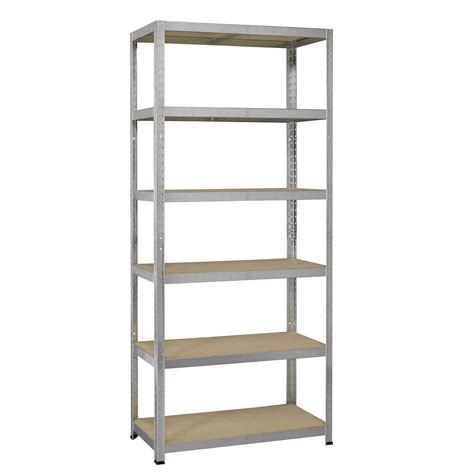 Etagere Metal by Etag 232 Re M 233 Tal Strong Galvanis 233 6 Tablettes L 100 X H 196