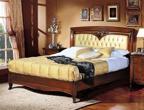 Luxury Klassische Bett, Kopfteil Gepolstert Getuftete
