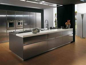18 excellent ideas of contemporary kitchen with sink built With contemporary kitchen ideas with stainless steel kitchen island