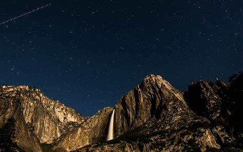 nt sky star mountain night nature wallpaper
