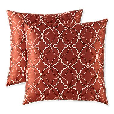 jcpenney decorative pillows jcpenney home ogee 2 pack decorative pillows