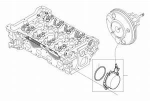 2009 Mini Cooper Clubman Vacuum Pump  Tubes  Engine
