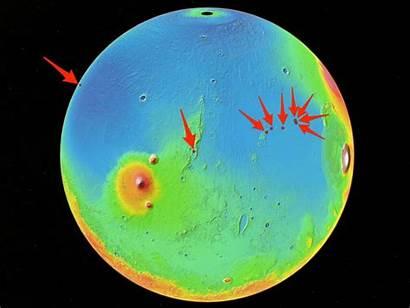 Mars Spacex Landing Locations Nasa Starship Planet