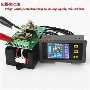 Dc 400v 300a Digital Lcd Power Panel Meter Monitor Power