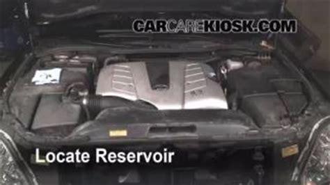 vehicle repair manual 1994 lexus ls windshield wipe control add windshield washer fluid lexus ls430 2001 2006 2004 lexus ls430 4 3l v8