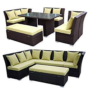 jamaican 7 outdoor patio sectional