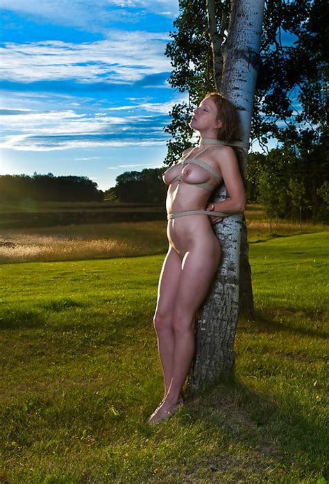 Tied Naked To A Tree 15 Pics Xhamster