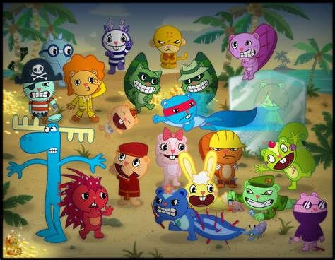 Happy Tree Friends Favourites By Flakith On Deviantart