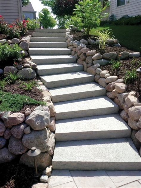 Unilock Steps - ledgestone step units photos