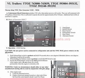 Carrier Trucks Service Manual To 2012 Cd