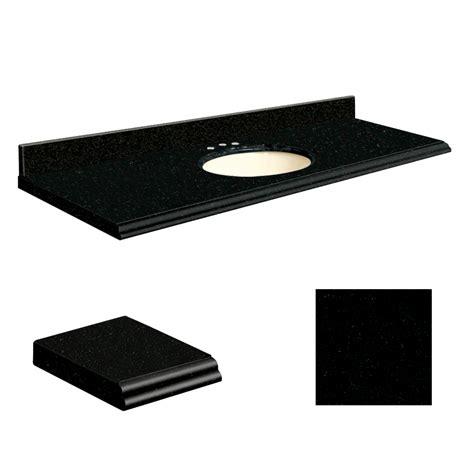 shop transolid absolute black granite undermount single