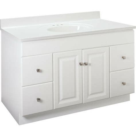 bathroom base cabinet new bathroom vanity drawer base cabinet white thermofoil