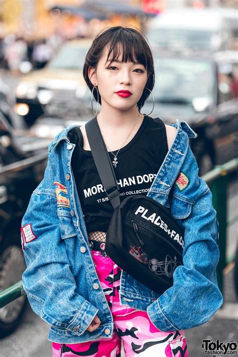 harajuku teen girl squad  modern japanese streetwear styles