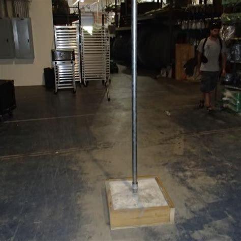 string lighting pole