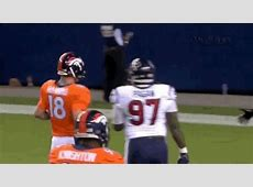 Peyton Manning Penalized For Jawing At Texans DB Who