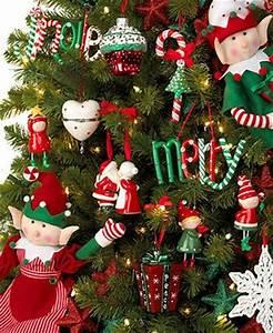 Holiday Lane Christmas Ornaments Elf Kisses Tree Theme