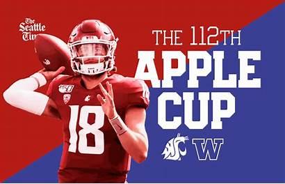 Cup Apple Huskies Uw Cougars 112th Pick