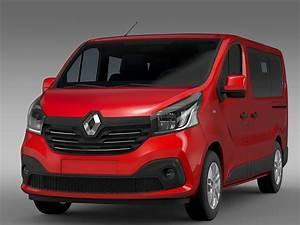 Trafic Renault 2017 : renault trafic minibus 2017 3d cgtrader ~ Medecine-chirurgie-esthetiques.com Avis de Voitures