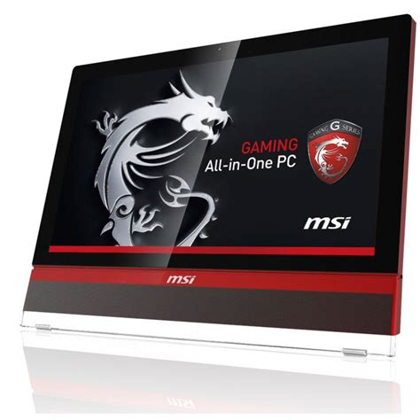 ordinateur de bureau all in one pc de bureau all in one msi ag2712a i7 3é gén