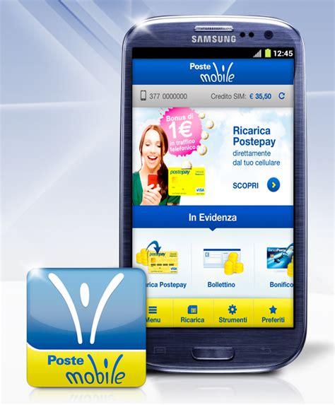 Servizio Clienti Poste Mobile by Postemobile Nuova App Per Android Pagamenti In Mobilit 224