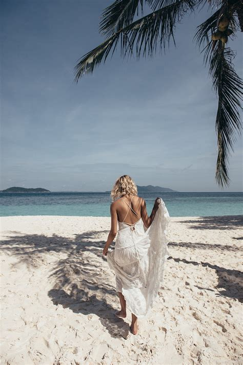 ideas   boho beach wedding   dreams