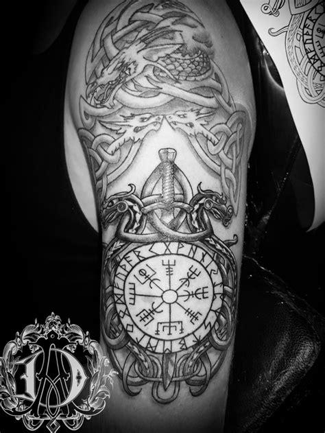 Tattoo uploaded by Alex Davidson | 2nd session of Viking half sleeve #tattooed #fkirons #