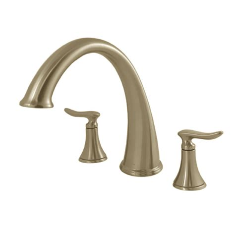 moen quinn brushed nickel roman tub faucet w valve new ebay