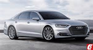Future Cars: Audi's All-New A8 Luxo-Saloon Grins Big For 2018