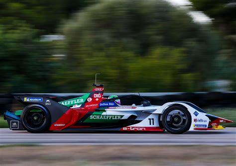 formel e auto audi pr 228 sentiert neues formel e auto f 252 r saison 2018 19