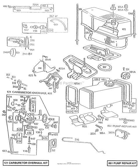 Briggs Stratton Parts Diagram For Air