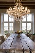 Pics Of Dining Room Chandeliers by 34 Farmhouse Dining Rooms And Zones To Get Inspired DigsDigs