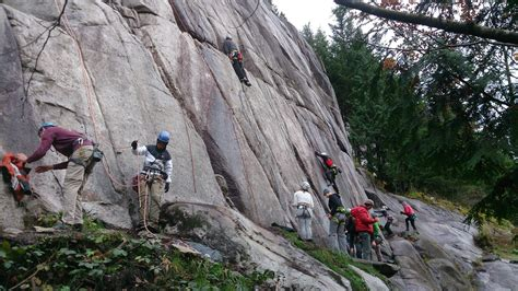 Squamish Climbing Wet & Wild All Year Round Vancouver