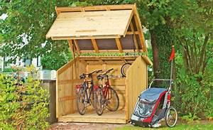 Fahrradbox Bikeport Schuppen Selbstde