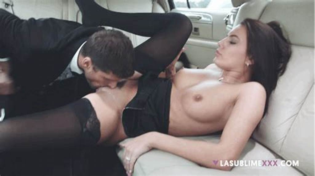 #Short #Haired #Meat #Goes #Down #In #Taxi